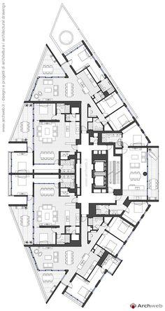 House Layout Plans, Dream House Plans, House Layouts, Architecture Site Plan, Concept Architecture, Building Plans, Building Design, Interior Presentation, Hotel Floor Plan