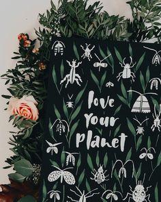 "Tanja von Die Handletterei's Instagram profile post: ""#handletteringmeetsillustration > Projekt: #dasgrossekrabbeln 🐞✍🏻 mit Gouache ♥️ . . . #watercolorlove #watercolorillustration…"""