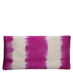 Rokechi Fuchsia Throw Pillow | Designers Guild
