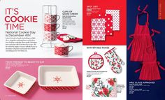 Get ready for Christmas baking! Bake all your goodies in style! AVON Living  Christmas 2017 www.youravon.com/michellemulcahy