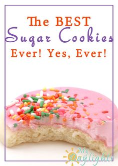 The Best Sugar Cookies Ever! Yes, Ever!