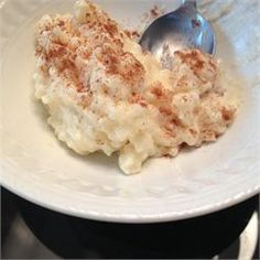 Creamiest Rice Pudding (can be cooked in the crock pot, see comments)