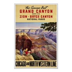 This Day in History:  Jan 11, 1908: Theodore Roosevelt makes Grand Canyon a national monument  http://dingeengoete.blogspot.com/ http://rlv.zcache.com/vintage_travel_poster_grand_canyon_chicago_north-r52efa31a64c94ffc940f44828bf4ba59_2f9d_400.jpg