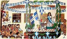 Όλα τα παιδιά γνωρίζουν πως πατρίδα μας είναι η Ελλάδα και μάλιστα είναι μία από τις ομορφότερες χώρες του κόσμου .. 25 March, Independence Day, Fair Grounds, Painting, Art, Art Background, Diwali, Painting Art, Kunst