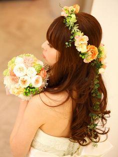 アンドフラワー(andflower) ラウンドブーケと花冠