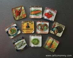 How to make Glass Tile Magnets