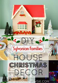 When I was a little girl, all I ever wanted was some Sylvanian Families playsets. Sadly though, I never received any, they were far too ou. Homemade Christmas Gifts, Christmas Gift Guide, Family Christmas, All Things Christmas, Christmas Crafts, Christmas Houses, Handmade Christmas, Christmas Ideas, Diy Craft Projects