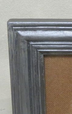 How to Do an Antique Silver Finish  I bought some wood frames at the thrift store recently for $3 each and wanted to do an antique silver finish on them. I also wanted it to look more like a wash and have the wood show through a little. To start, since I wanted the wood to show …