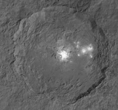 Occator crater on Ceres-Ceres Bright Spot is Salty