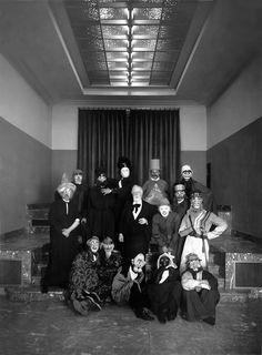 James Ensor (artist surrounded by masks, 1929)