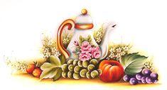 3 Riscos de Frutas Lindíssimos para Pintar em Tecido - Download Grátis