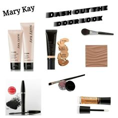 My Mary Kay dash out the door look.    7 easy steps in 5 mins or less:  # 1 cleanse  # 2 moisturize  # 3 seal with CC Cream  # 4 add bronzer  # 5 apply mascara  # 6 apply cream eye shadow  # 7 add lip gloss