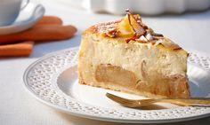 Bratapfel-Käsekuchen  Rezept: Eine gelungene Kombination - Käsekuchen mit Bratapfel - Eins von 5.000 leckeren, gelingsicheren Rezepten von Dr. Oetker!