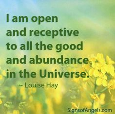 #Abundance #Affirmation I am open and receptive to all the good and abundance in the #universe #meditation #MondayMotivation #monday http://www.loapower.net/which-type-of-thinker-are-you/