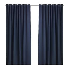 IKEA - WERNA, Block-out curtains, 1 pair,