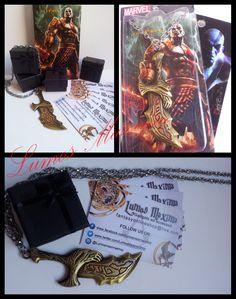 #GoW #GodofWar #Kratos #LamedelCaos #Ps3 #Gamers #Nerd #Collana