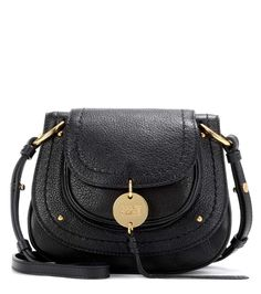 Chloe Susie Small black leather shoulder bag