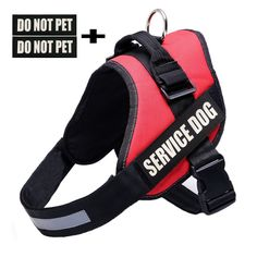 Faylife Servicce Dog Vest Harness, Adjustable Nylon with SERVICE DOG IN TRAINING Reflective Patchesfor Large Medium Small Dogs -- Visit the image link more details. (This is an affiliate link and I receive a commission for the sales)