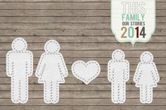 This Family 2014 Project Life printable Freebie Made by ME (Tenika) :)