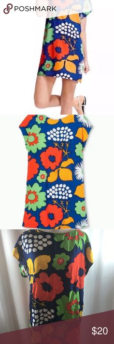 Marimekko Dress Marimekko for Target shift dress. Gorgeous 70s style print. Marimekko Dresses Mini