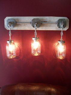 classic mason jar lighting (ebay) / Mason Jar Lights