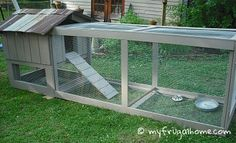33 Ideas For Backyard Dog House Chicken Coops Cheap Chicken Coops, Small Chicken Coops, Chicken Coop Run, Portable Chicken Coop, Backyard Chicken Coops, Building A Chicken Coop, Chicken Runs, Chickens Backyard, Chicken Coop Plans Free