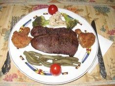 Splina de porc la grill (gratar) Piri Piri, Steak, Honey, Pork, Steaks, Beef