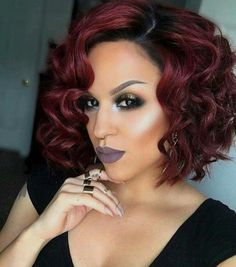 Follow My Pinterest Vickileandro Burgundy Bob Short Hair Color On