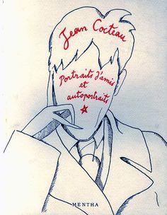 ジャン・コクトー Jean Cocteau: Portraits d'amis et autoportraits Jean Cocteau… Jean Cocteau, Bohemian Art, French Artists, Beauty And The Beast, Fashion Art, Cool Pictures, Paintings, Illustrations, Drawings