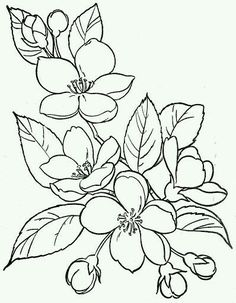 Coloring pages of flowers and hearts