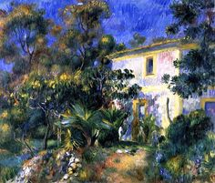Algerian Landscape Pierre Auguste Renoir/ i've never seen this one before- I love it~