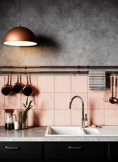 Visualization of the interior on Behance Home Decor Kitchen, Kitchen Living, Kitchen Interior, New Kitchen, Home Kitchens, Sweet Home, Hippie Home Decor, Boho Decor, Rustic Decor