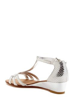 13c6dccf9 Dune Gear Metallic Sandal by Dune on  HauteLook Metallic Sandals