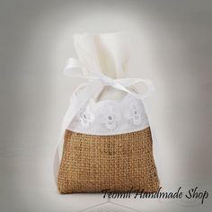 Rustic Wedding Favor Bag, Party Gift Bag or Bridal Shower - SET OF 100