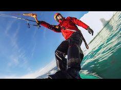 Видео: Кайтсерфинг в холодных льдах Гренландии. — Vinegret
