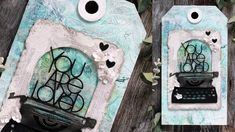 10 Mixed Media Tips & Tricks with Shari Carroll Valentine Love Cards, Valentines For Kids, Valentine Crafts, Simon Says Stamp Blog, Mixed Media Cards, Altered Art, Artsy Fartsy, Card Making, Paper Crafts