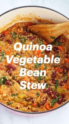 Veggie Soup Recipes, Quinoa Recipes Easy, Vegan Dinner Recipes, Vegan Dinners, Indian Food Recipes, Whole Food Recipes, Cooking Recipes, Healthy Lentil Recipes, Vegan Indian Food