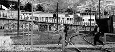 https://flic.kr/p/KBjLod | Valparaíso050 | Cruce Peatonal, Estación Barón, Metro…