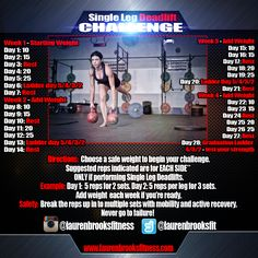 Kettlebell and Fitness Training with Lauren Brooks Kettlebell Workout Routines, Kettlebell Deadlift, Kettlebell Challenge, Kettlebell Training, Workouts, Exercises, 28 Day Challenge, Squat Challenge, Deadlift Variations