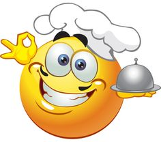 This consummate chef has just prepared a gourmet feast. Images Emoji, Emoji Pictures, Smiley Emoticon, Emoticon Faces, Animated Emoticons, Funny Emoticons, Emoji Love, Cute Emoji, Wallpaper Emoticon