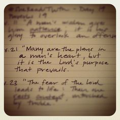 """tuttidolci: """"Seek God's will for your life. Proverbs 19:21 #shereadstruth"""""""