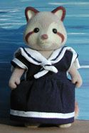 A free pattern for a sylvanian families sailor dress!