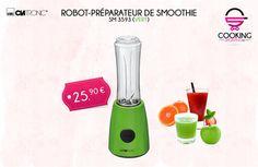 Un #robot  préparateur de #smoothie qui peut être aussi utilisé pour préparer vos #sauces ils, vos #soupes et vos #sauces !