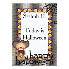 #Halloween Invitation Card 2 - #halloween #invitation #cards #party #parties #invitations #card
