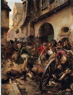 (1793, Oct. 17) Henri de La Rochejacquelein, a Vendéan leader, at the Battle of Cholet.