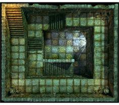 Hall of Fallen Angel - Stairs_N1