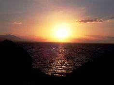 'Greek+Sunset+'+von+Elke+Seifried+bei+artflakes.com+als+Poster+oder+Kunstdruck+$16.63
