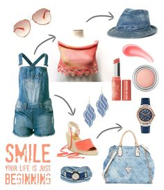 """""""Smile"""" by ixela ❤ liked on Polyvore"""