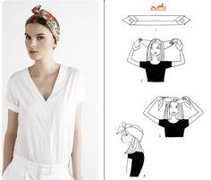 Como usar lenços!
