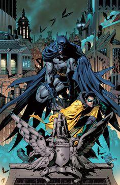 Batman and Robin by T.S. Daniel